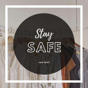 Stay safe & healthy